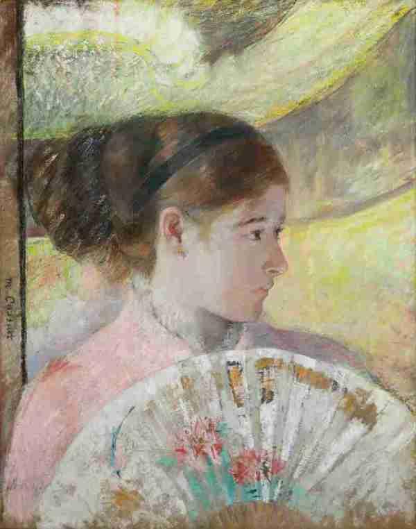 ' Artifact Mary Cassatt' Pastels National Npr