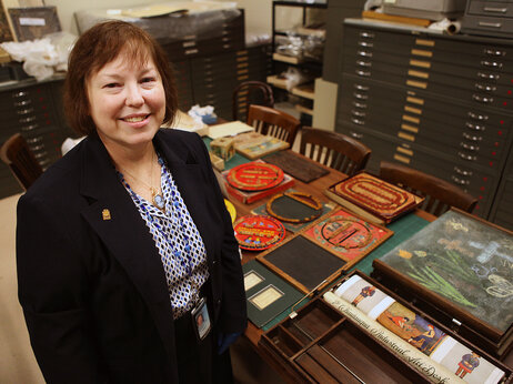 Debbie Schaefer-Jacobs is the curator of the education collection at the Smithsonian's National Museum of American History.