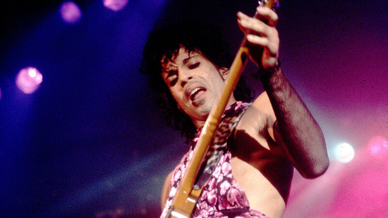 Prince celebrates his birthday and the release of Purple Rain at 1st Avenue in Minneapolis.
