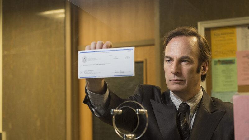 "Bob Odenkirk as Saul Goodman on AMC's ""Better Call Saul."""