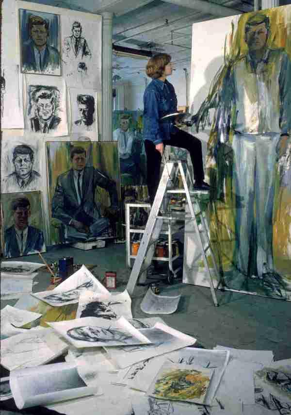 Artist Elaine De Kooning Painting Verb Noun Npr
