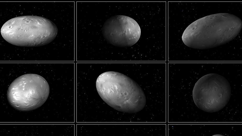 Pluto And All Its Moons
