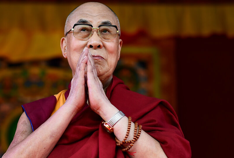 """On June 29, the Dalai Lama spoke on """"Buddhism in the 21st Century"""" and dedicated the local Buddhist community center in the British town of Aldershot."""