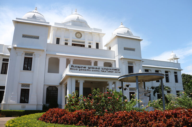 The Jaffna Public Library, destroyed in 1981 and rebuilt twice since, once sat in a no man's land between warring forces. It's been fully restored and become a haven for readers young and old.