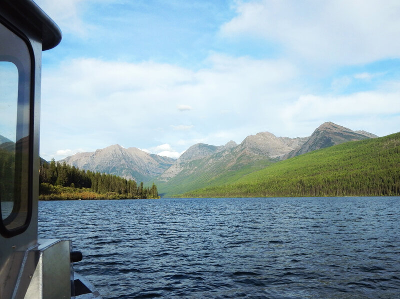 Logging Lake, inside Montana's Glacier National Park, is lovely, but bull trout there are fast dwindling.