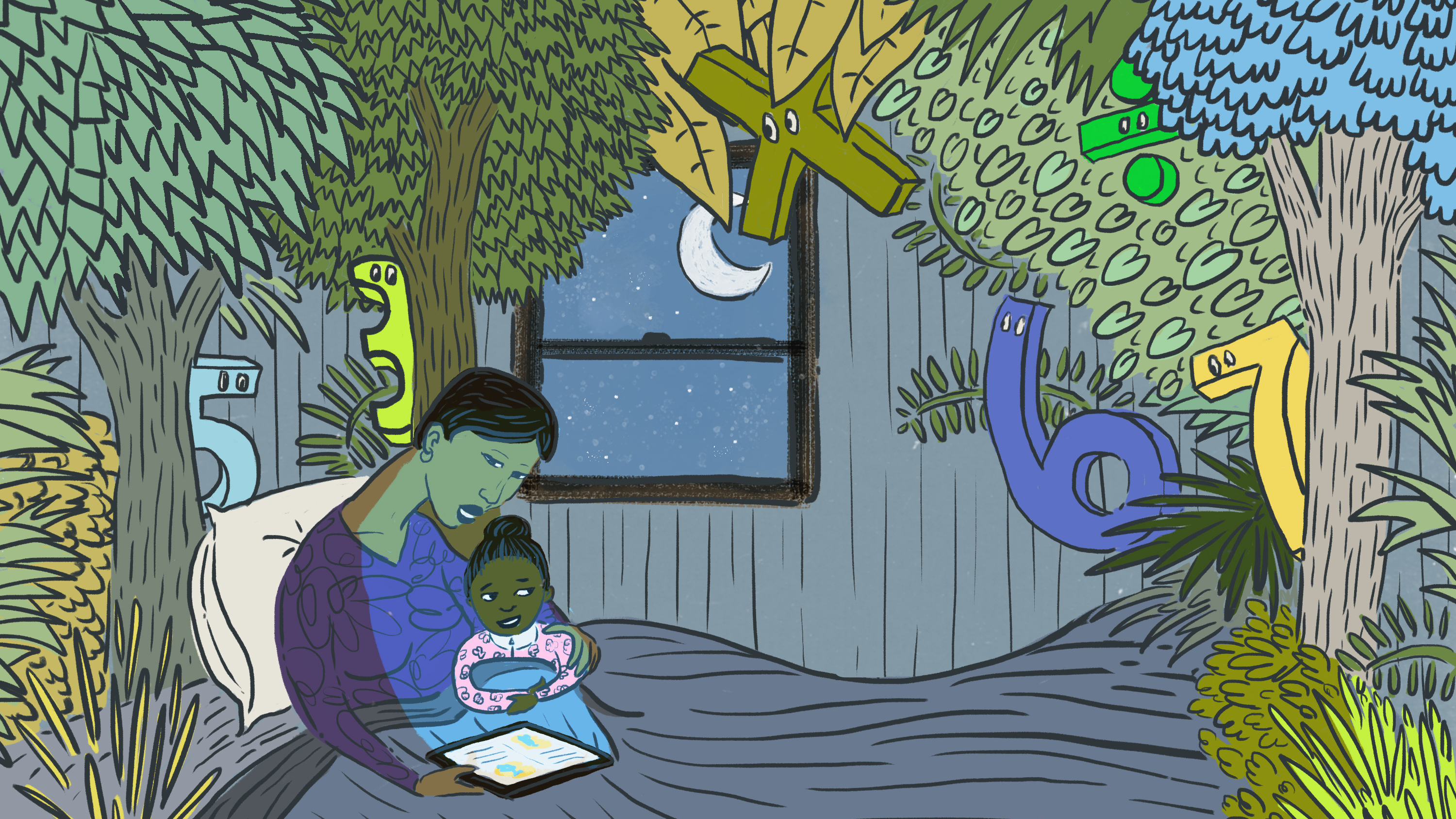 Where The Wild Fractions Are The Power Of A Bedtime Math