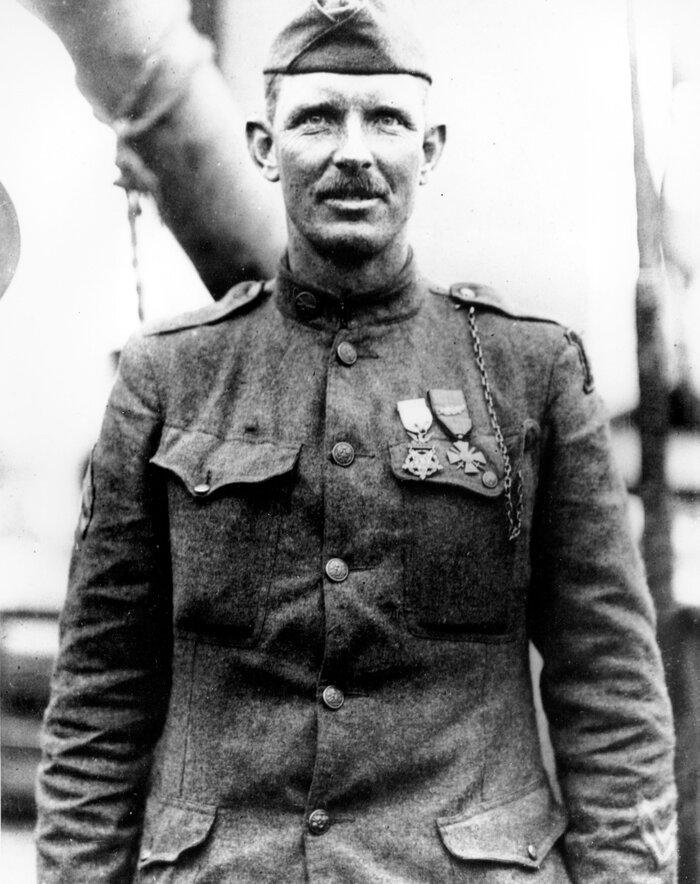 Sgt. Alvin C. York in 1919.