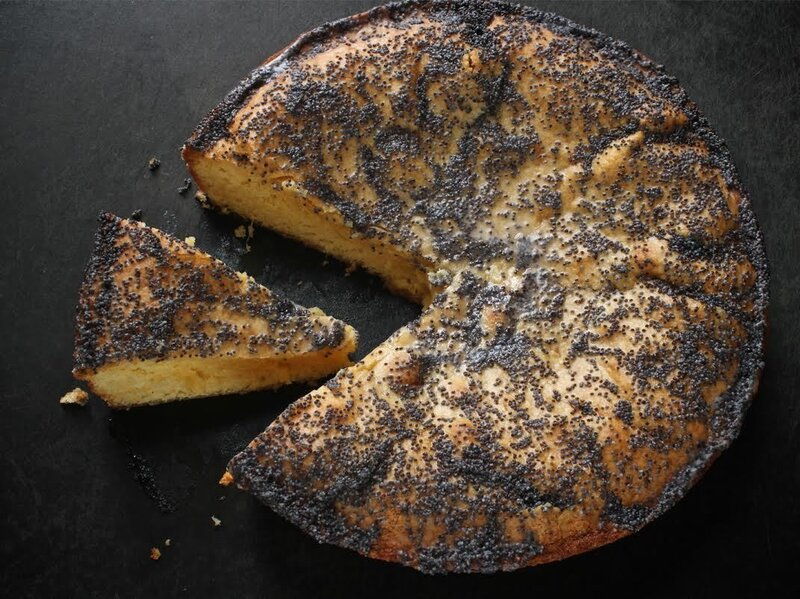 Food & Wine's Grapefruit Cornmeal Cake made by Dunn and Patton.