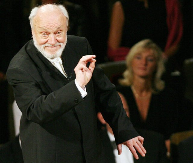 Conductor Kurt Masur Leader Of Orchestras In New York And Beyond Has Died