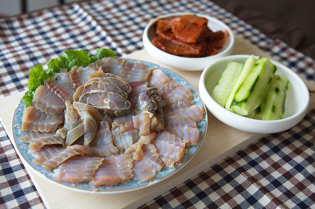 Hold Your Nose And Take A Bite: The Odd Appeal Of A South Korean Fish Dish  : The Salt : NPR