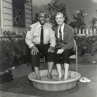 Walking The Beat In Mr. Rogers' Neighborhood, Where A New Day Began Together