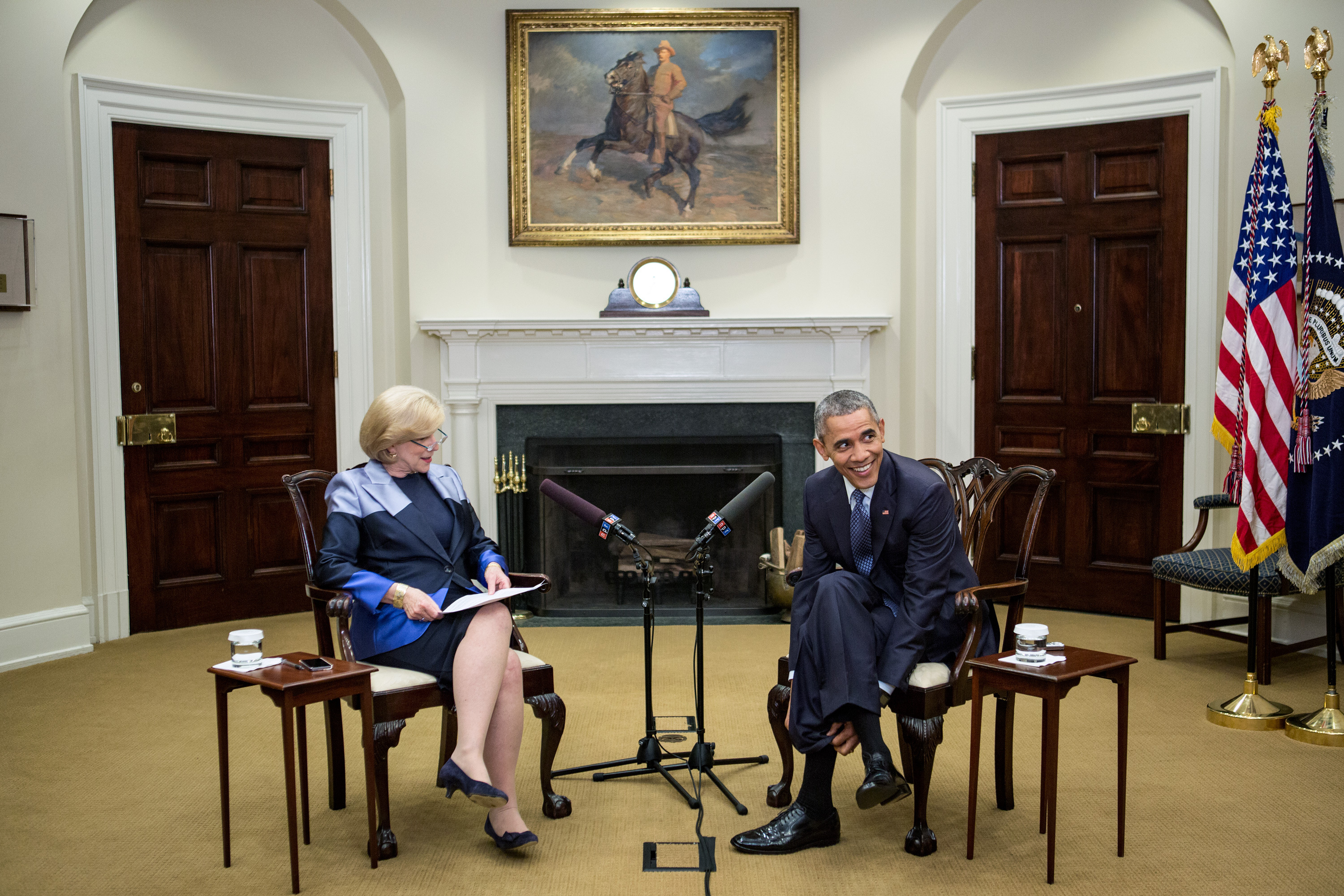 Transcript And Video President Obama S Interview With Npr