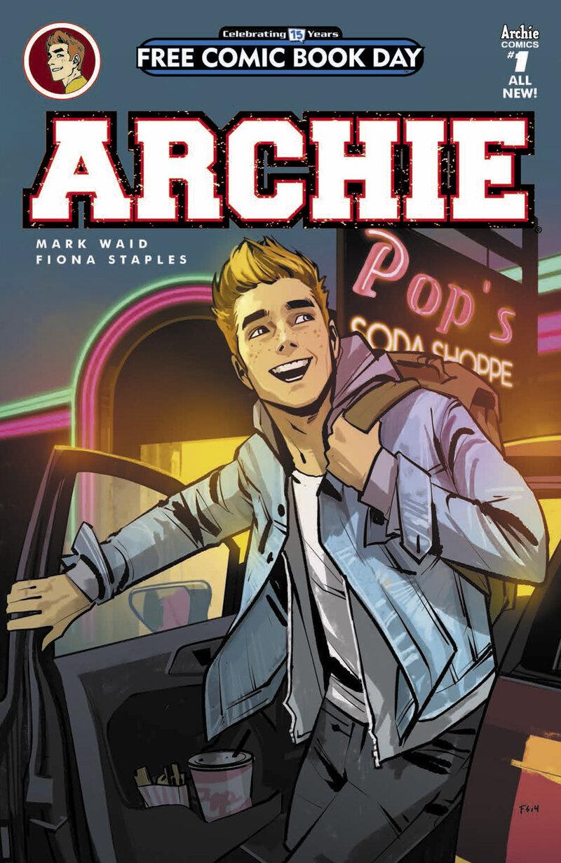 Archie Diamond Comic Distributors Hide Caption