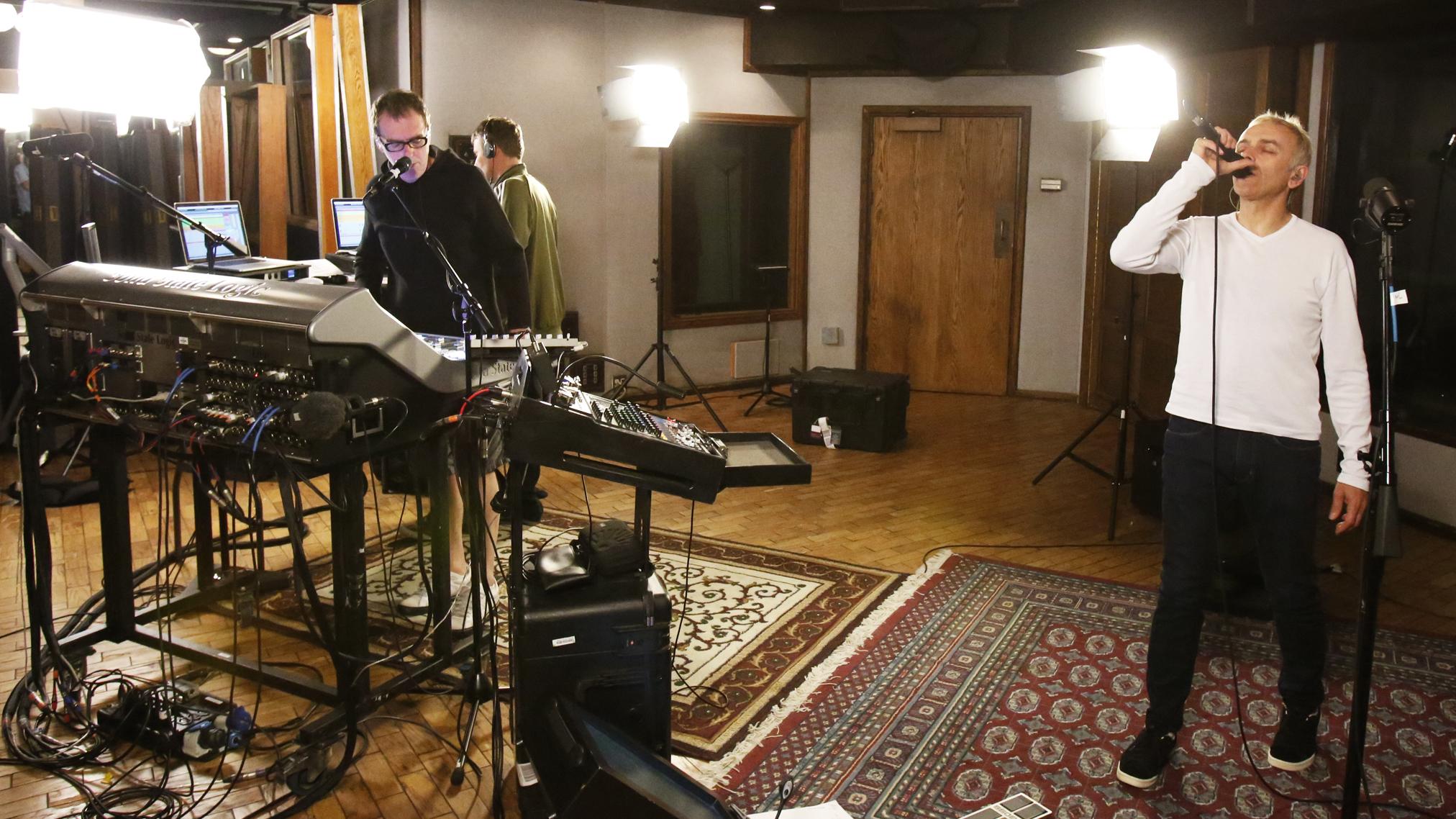 Watch Underworld Perform Low Burn Live In The Studio  NPR