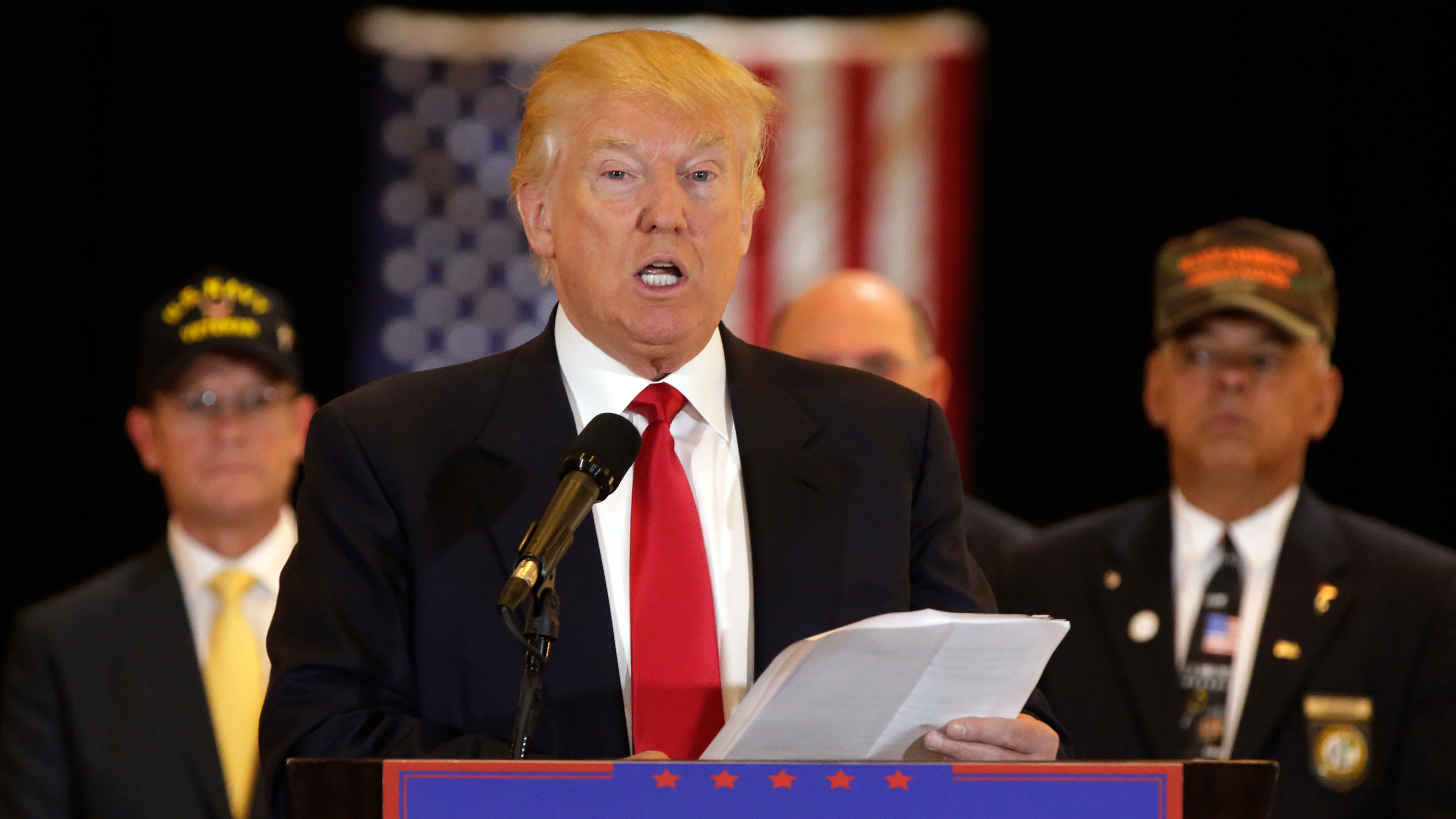 Donald Trump Released A List Of Veterans Groups He Says