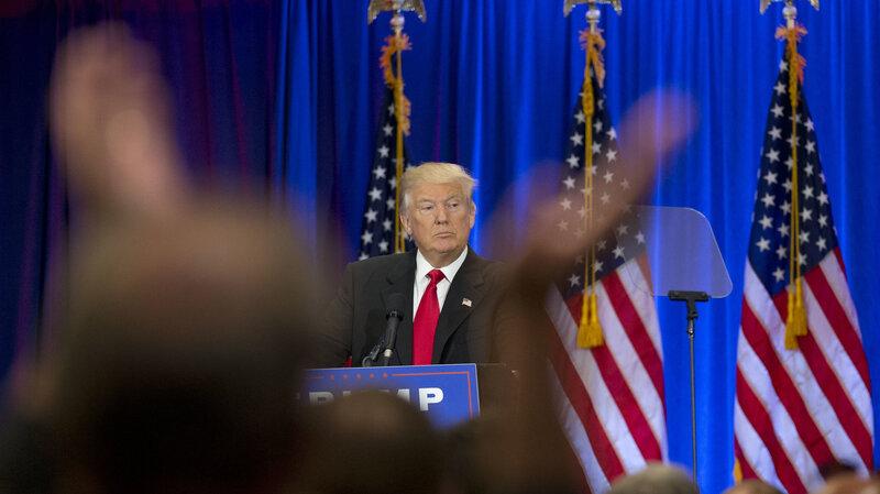 donald trump s speech