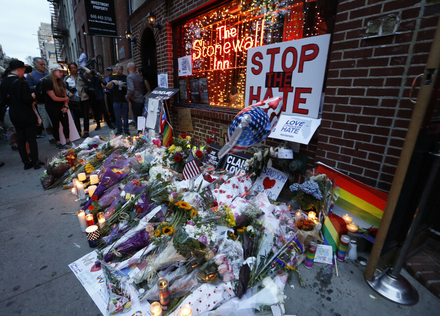 Image result for obama, stonewall inn memorial