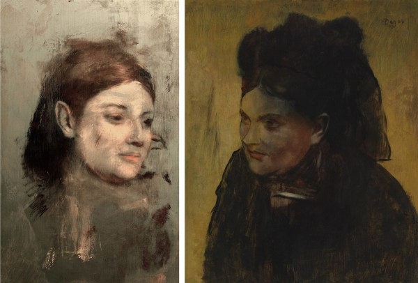 Degas Portraits Paintings