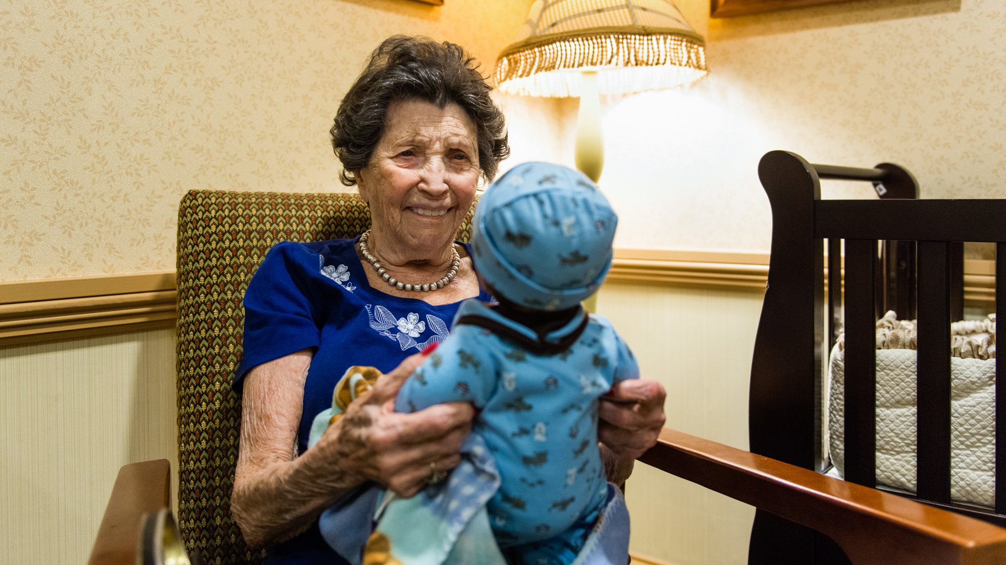 Doll Therapy For Alzheimers Calming Or Condescending