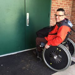 Wheelchair Fight Swivel Chair Canada Voters With Disabilities For More Accessible Polling Places Npr