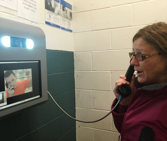Video Calls Replace In Person Visits In Some Jails