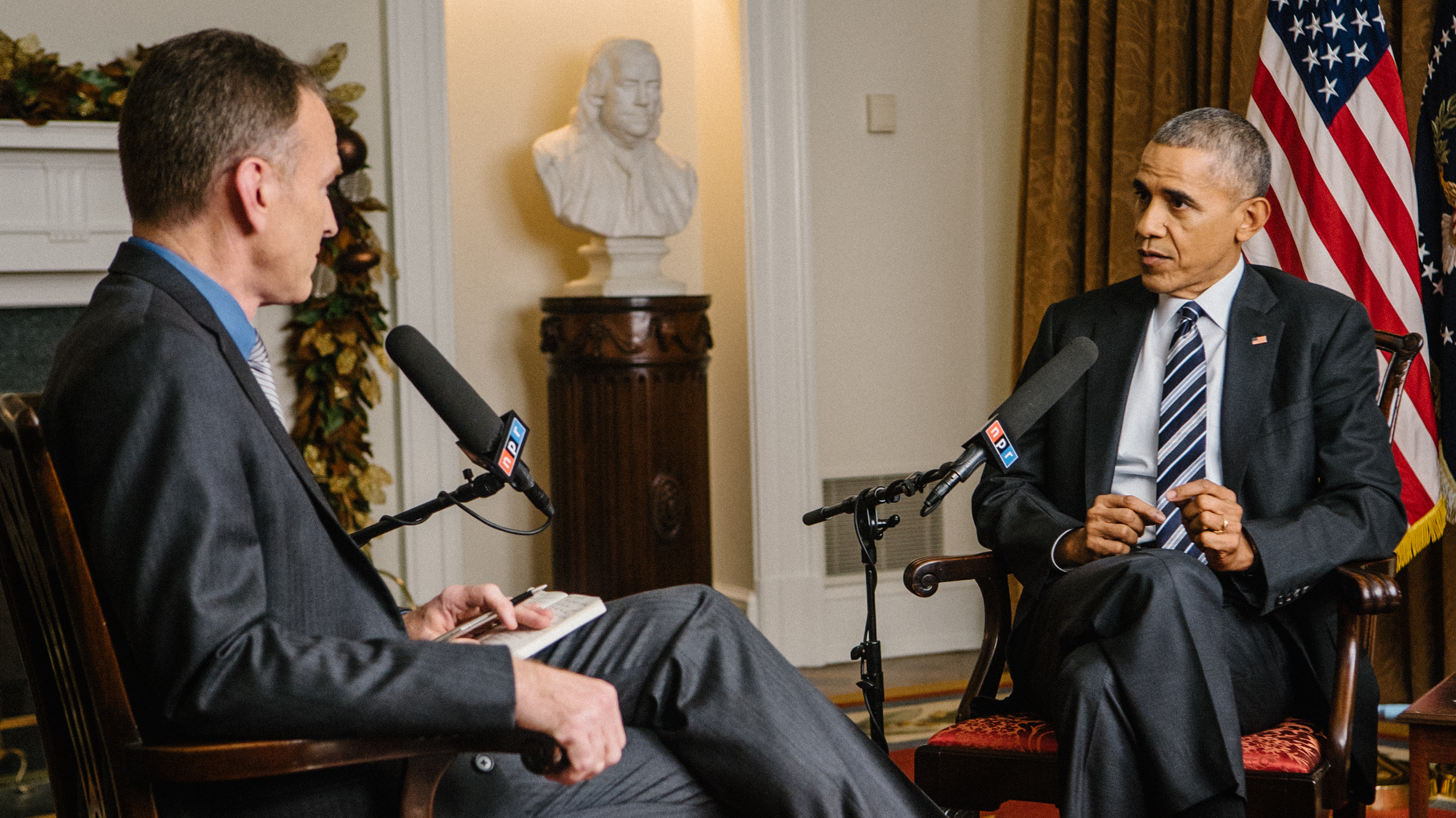 Npr News Exit Interview With President Obama Npr