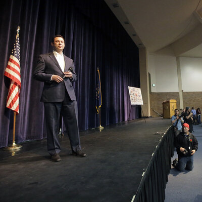 Chaffetz's Support Of Trump Brings Boos And Jeers At Utah Town Hall