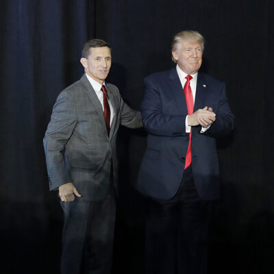 Flynn's Departure Adds Fuel As Trump's Russia Problem Smolders