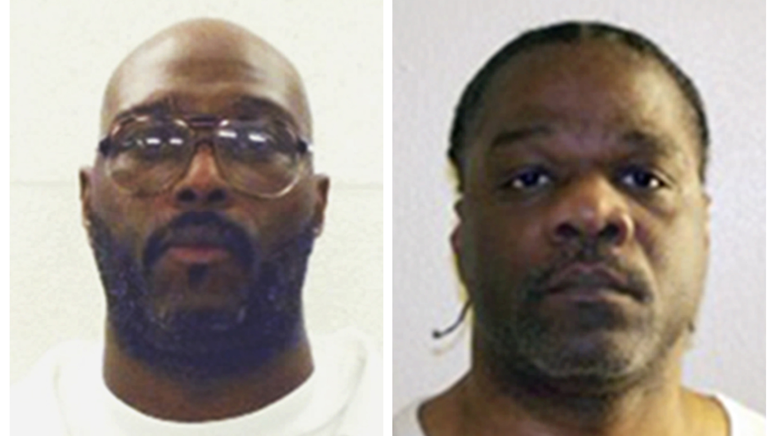 Death row inmates Stacey Johnson (left) and Ledell Lee are both scheduled to be put to death today, though court rulings have put those executions on hold for now.