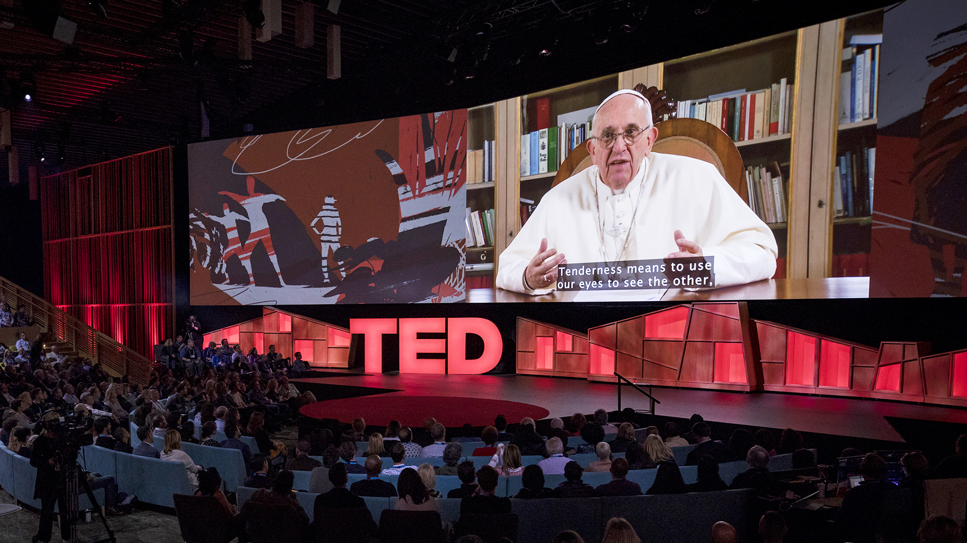 In Surprise TED Talk Pope Francis Asks The Powerful For