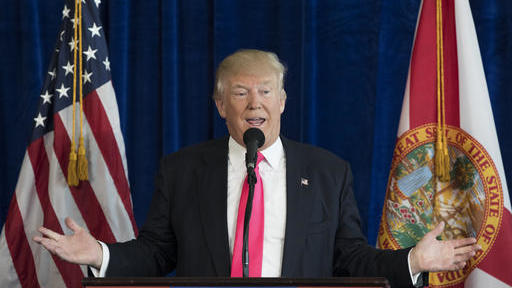 Then-Republican presidential candidate Donald Trump appeared to encourage Russia to continue hacking Democratic rival Hillary Clinton