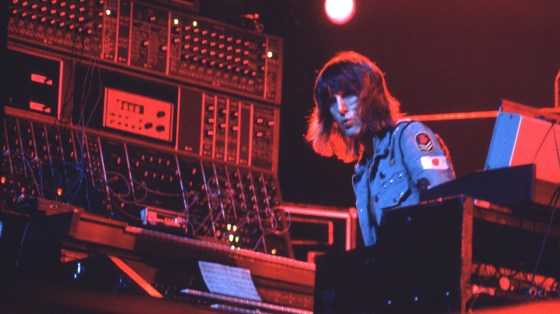 Keith Emerson of Emerson, Lake & Palmer, an essential prog-rock band derided in the 1970s by critic Lester Bangs.