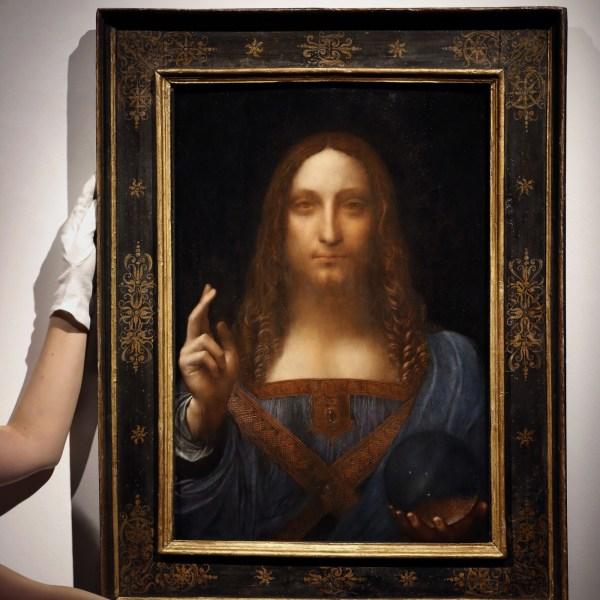Leonardo Da Vinci Portrait Of Christ Sells Record