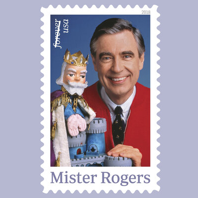 Mister Rogers Is Coming Back To Your Neighborhood, On A Stamp