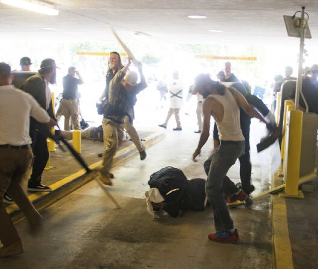 Black Man Beaten At Charlottesville White Nationalist Rally Is Acquitted Of Assault The Two Way Npr
