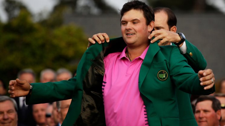 Image result for patrick reed passing by fans