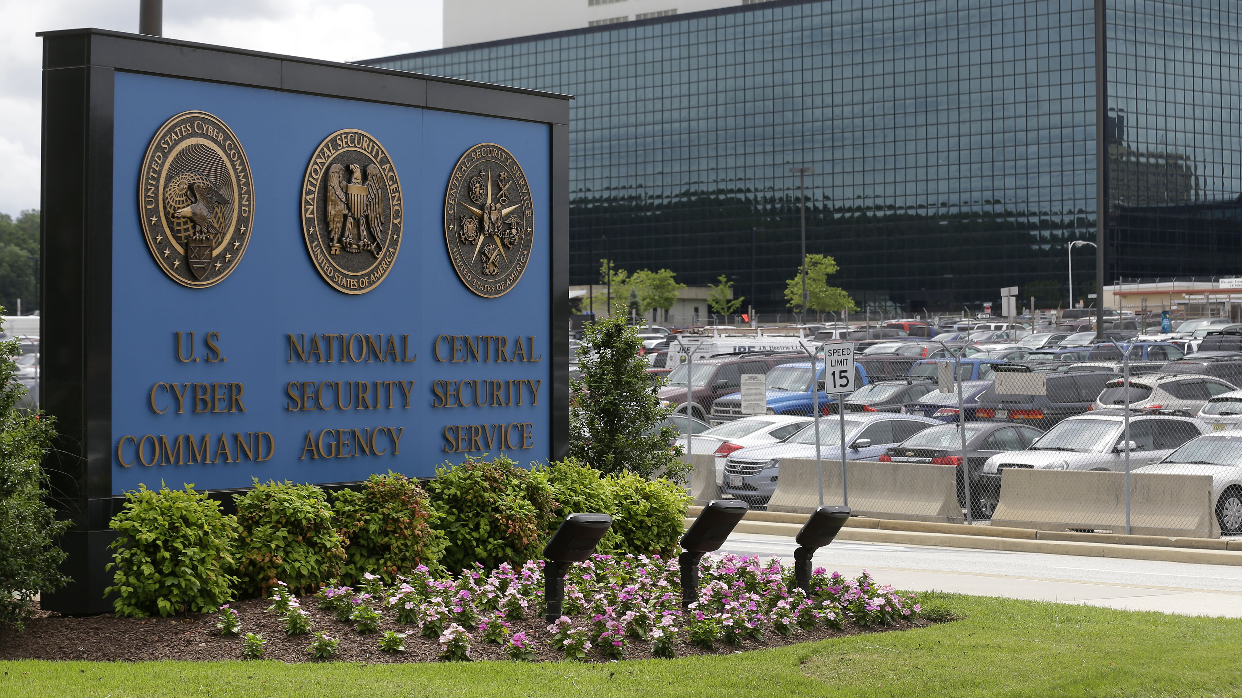 The National Security Administration (NSA) campus in Fort Meade, Md., where the US Cyber Command is located. Acting Homeland Security Adviser Rob Joyce said Monday he would leave the White House to return to the NSA.