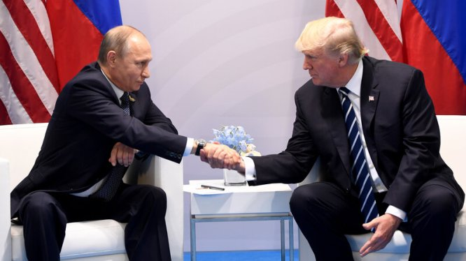 Image result for putin and trump meet