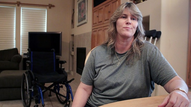 Shannon Hubbard has complex regional pain syndrome and considers herself lucky that her doctor hasn