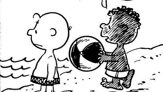 'peanuts' black character