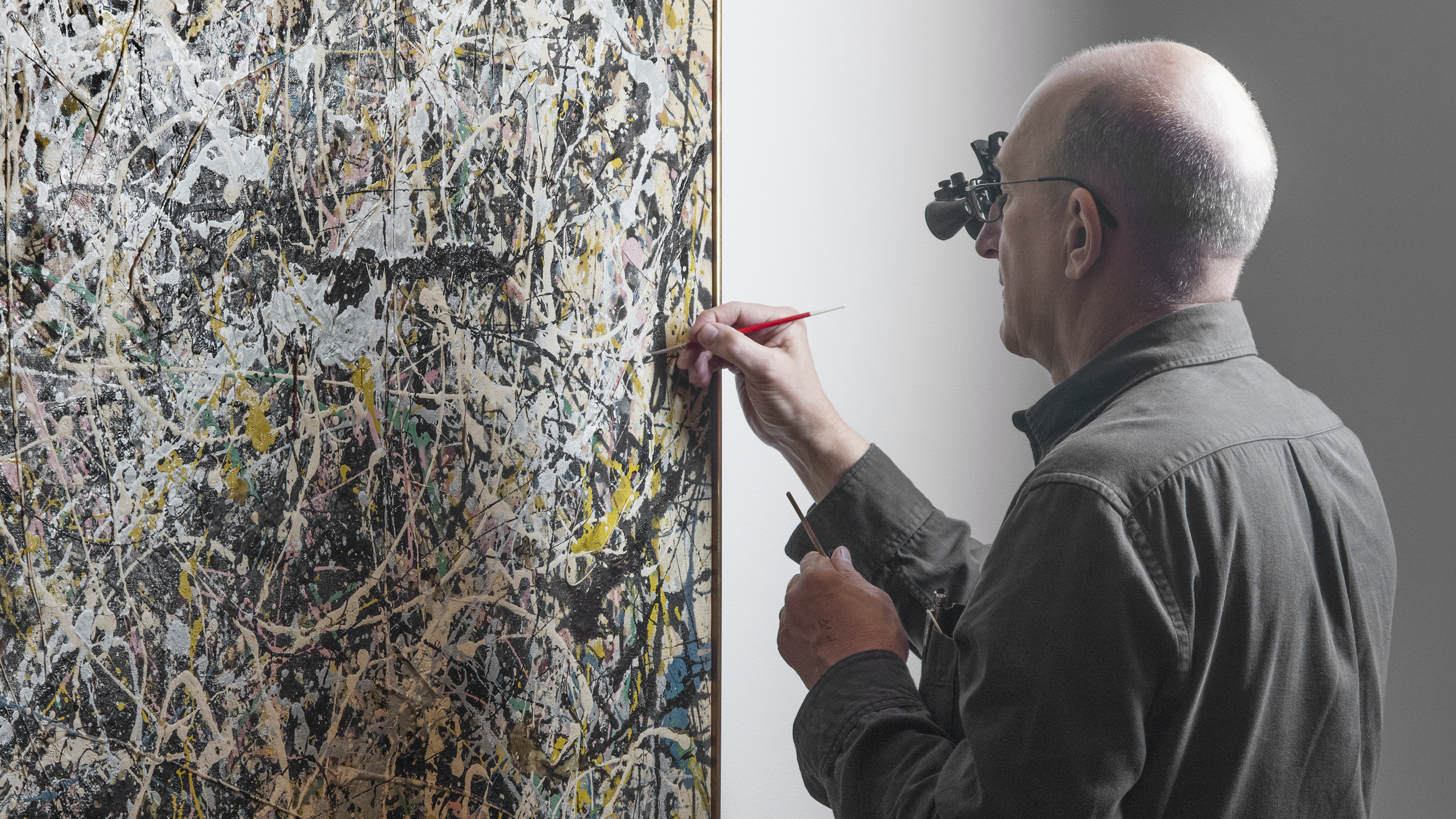 4 falten methode jackson pollock how to use a moody diagram painting gets touch up  and the
