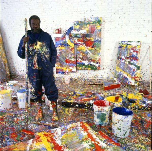 Hard Work 84 Artist Sam Gilliam ' Felt