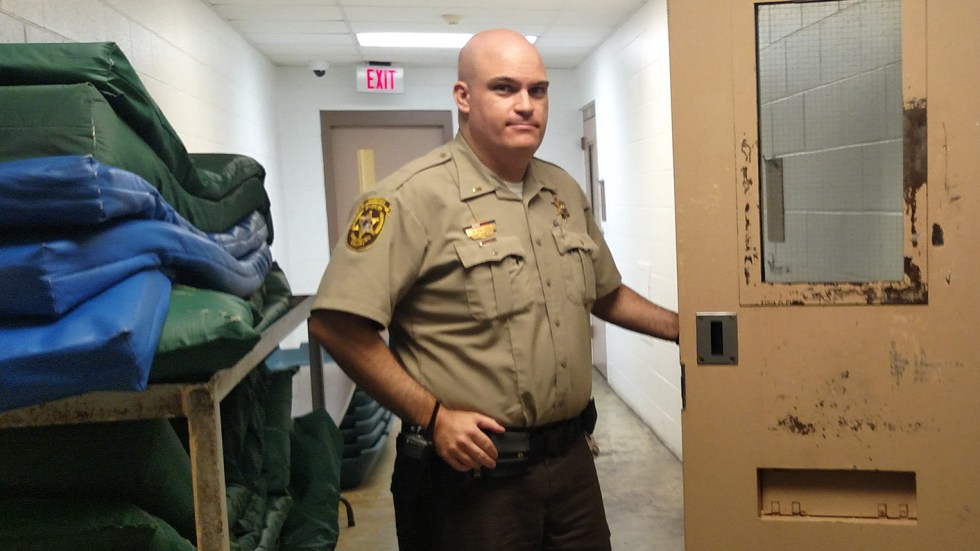 Lt.Ryan Snyder, who works at the Champaign County jail in Illinois, says it