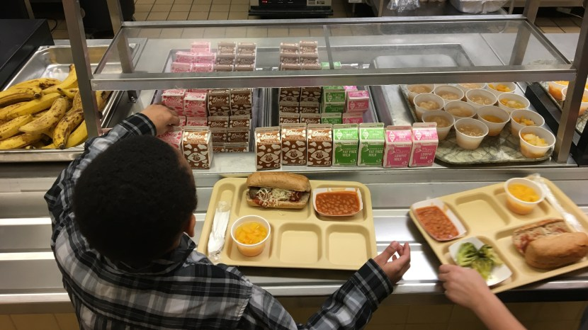 The Trump administration is giving schools more flexibility in the meals they serve. Critics say the rollback on school lunch rules is bad for kids