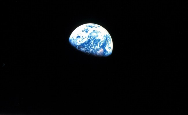 1968 When Apollo 8 First Orbited The Moon And Saw The