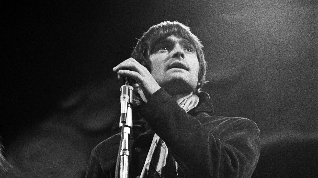 Marty Balin performs with Jefferson Airplane at the Monterey Pop Festival in 1967.