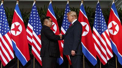 President Trump, North Korean Leader Kim Agree To Second Meeting Next Month