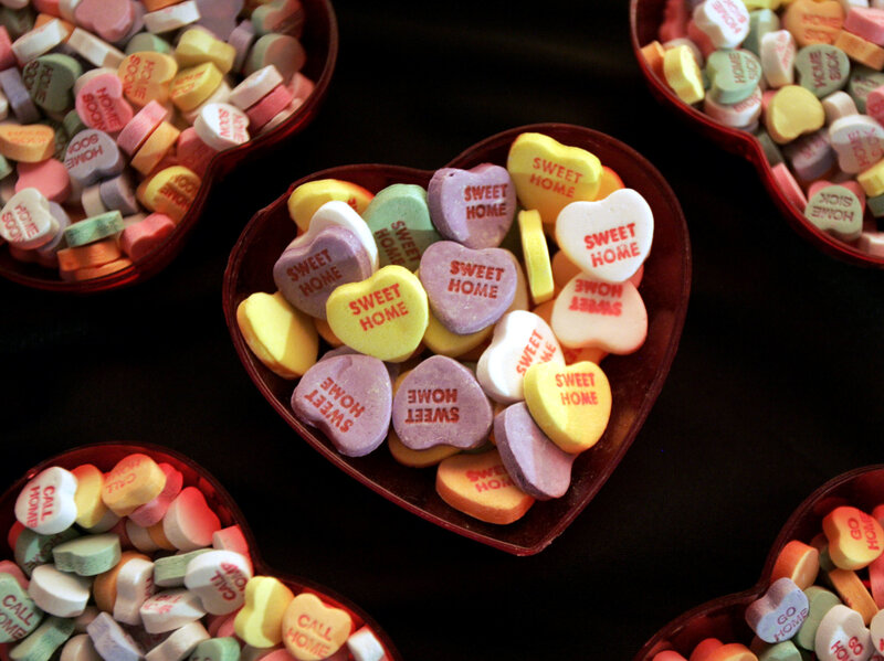 sweethearts candy for valentine