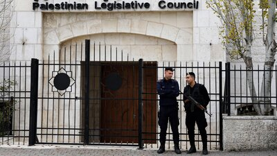 U.S. Ends Funding For Palestinian Security Forces That Counter Militants