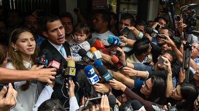 Juan Guaidó Claims Police Raided His Home As He Struggles To Consolidate Power